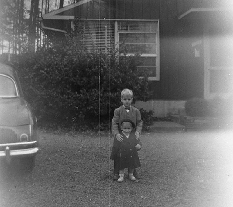 I shot this portrait of my brothers Sam and Josh in 1959 with my first camera, this portrait of my brothers