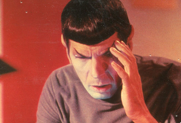 Spock's mind was his super power.