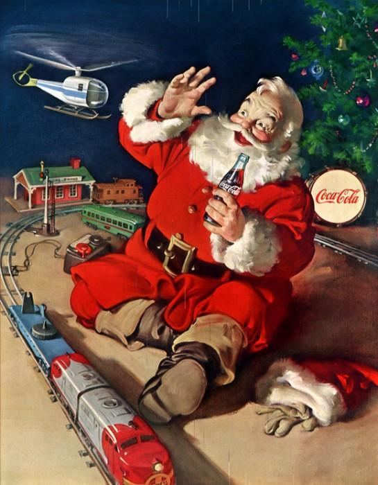 Inside, Santa's just a kid himself.