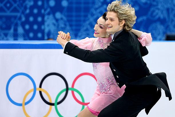 Meryl Davis and Charlie White are golden Olympians.