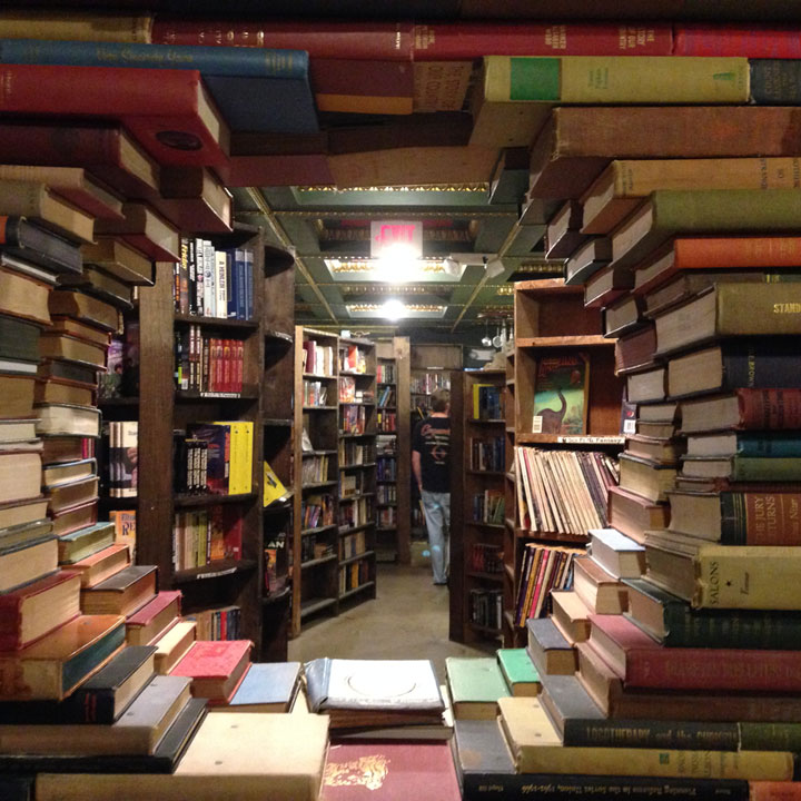 You could easily lose yourself in The Last Bookstore's Labyrinth.